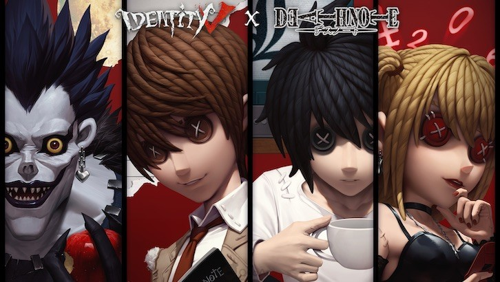 popular-horror-title-identity-v-collab-with-death-note 2